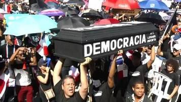 video: dominikanische republik: proteste nach wahlpanne