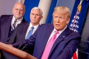 US-Politik: Warum das Coronavirus Donald Trump zu Fall bringen könnte