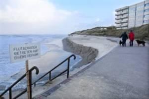 unwetter-schäden: millionen für neue insel-strände an der nordsee