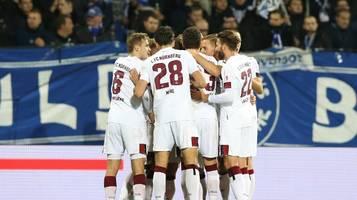 2. bundesliga: nürnberg siegt in karlsruhe – dresden holt ersten auswärtssieg der saison