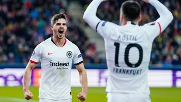 Europa League: Eintracht Frankfurt steht im Achtelfinale – und trifft auf Basel