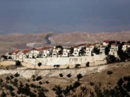 wahl in israel: netanjahu setzt auf trumps nahost-plan