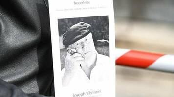 joseph vilsmaier: trauerfeier mit rührenden anekdoten