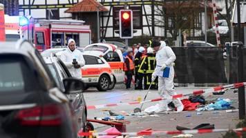 autoattacke in volkmarsen: motiv weiter unklar