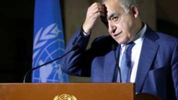 libyen-konferenz sagt waffenembargo zu