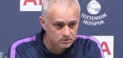 mourinho erklärt eklat um dier und spurs-fan