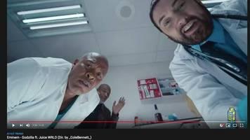 godzilla: eminem zollt verstorbenen rapper juice wrld mit neuestem musikvideo tribut