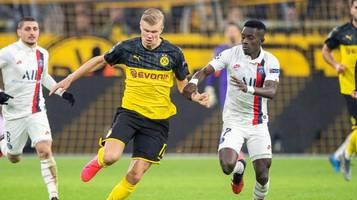 champions league im tv und liveticker: psg gegen bvb live verfolgen