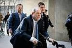 früherer hollywood-mogul - harvey weinstein muss wegen sexualverbrechen 23 jahre ins gefängnis