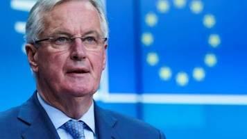 eu-unterhändler barnier legt ersten entwurf für abkommen mit großbritannien vor