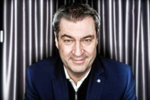 """interview: markus söder: """"corona ist für alle ein stresstest"""""""