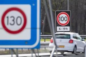 bisher einmalig: in den niederlanden gilt jetzt tempo 100 auf der autobahn