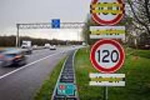 auf autobahnen - in den niederlanden gilt jetzt tempo 100 als höchstgeschwindigkeit