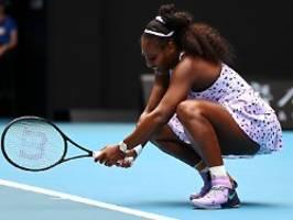 Serena Williams zum Coronavirus: Ich weiß einfach nicht, was ich tun soll
