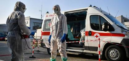 Über 600 neue Corona-Tote in Italien