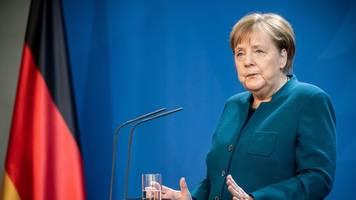 Bundeskanzlerin: Erster Corona-Test bei Kanzlerin Merkel negativ