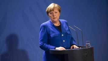 Angela Merkel: Erster Corona-Test bei Kanzlerin negativ