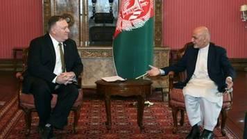 USA kürzen Hilfen für Afghanistan um eine Milliarde Dollar