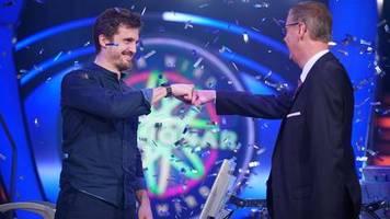 Wer wird Millionär?: Die Europalette verhalf ihm zum Sieg: Kölner knackt bei Günther Jauch die Millionenfrage