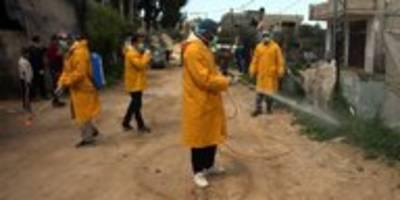 corona im gazastreifen: das virus bricht die blockade