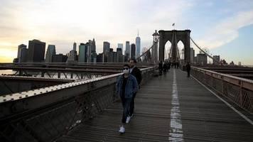 Die Morgenlage: Wir müssen den Großraum New York City als Hochrisikogebiet betrachten