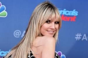 Coronavirus: Coronavirus: Topmodel Heidi Klum ist nicht infiziert