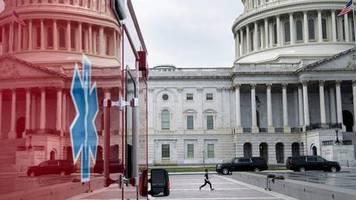 News zum Coronavirus: US-Regierung und Senat einigen sich auf Billionen-Dollar-Hilfspaket