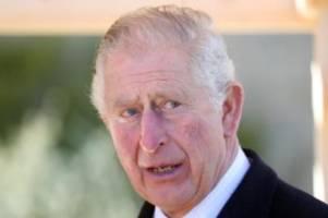 Britische Royals: Prinz Charles positiv auf Coronavirus getestet
