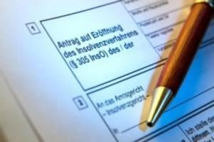verbraucher: weniger privatinsolvenzen in schleswig-holstein