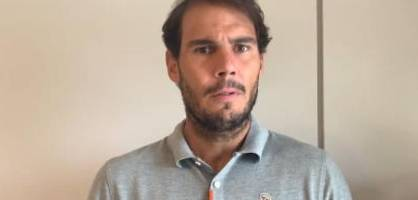 Rafael Nadal ruft zum Spenden auf