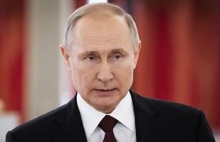 putin: russland kann covid-19 in weniger als drei monate besiegen