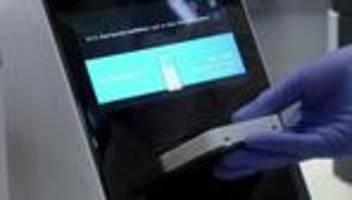 wissenschaft: schnelltestgeräte für coronavirus