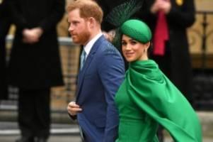 ex-royals: harry und meghan sollen von kanada in die usa gezogen sein