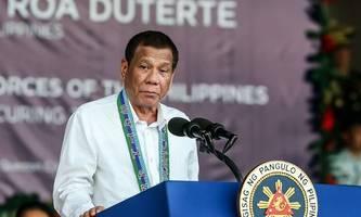 Philippinischer Präsident Duterte in Quarantäne
