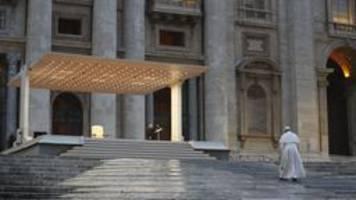 Corona-Krise: Ein besonderer Papst-Segen in schwerer Zeit