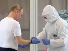 Über 1200 Fälle in Russland: Putin dreht im Kampf gegen Corona auf