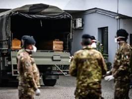 889 neue Fälle an einem Tag: Italien meldet mehr als 10.000 Corona-Tote