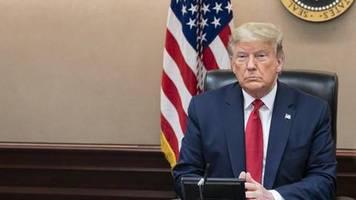 USA reagiert auf Corona-Pandemie: Donald Trump, der Kriegspräsident, rüstet sich für den Kampf gegen einen unsichtbaren Feind