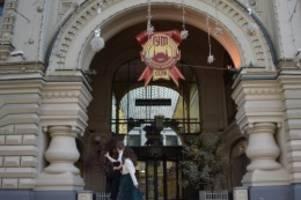 Verschärfte Maßnahmen: Corona-Krise: Einkaufszentren und Parks in Moskau zu