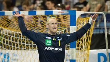 Handball-Torwart Appelgren nach Corona-Erkrankung wieder fit