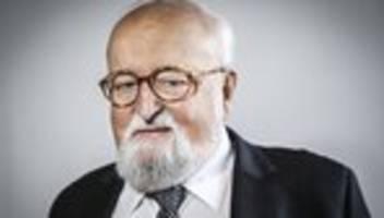 Krzysztof Penderecki: Übervoll mit sakralen Bildern