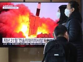 Verbotener Test: Nordkorea erprobte Mehrfachraketenwerfer