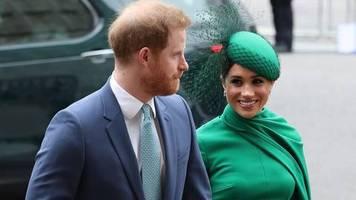 britische royals: umzug nach kalifornien: meghan hat prinz harry da, wo sie ihn immer haben wollte