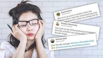 sommerzeit: die backofenuhr zeigt wieder die richtige zeit an – die besten tweets zur zeitumstellung