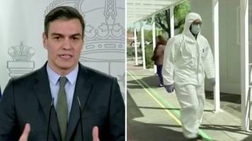 Coronavirus: Verschärfte Maßnahmen: Spanien schränkt Bewegungsfreiheit weiter ein