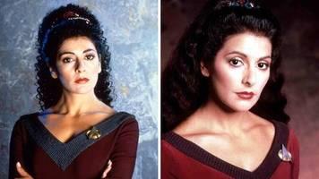 Kult-Serie: Star-Trek-Star Marina Sirtis: Was macht die Deanna-Troi-Schauspielerin heute?