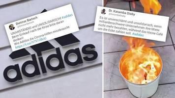 Nach Miet-Stopp: Adidas: Politiker reagieren mit Kritik und Unverständnis – einer sogar mit Feuer