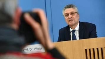 Wieler warnt vor dramatischen Zuständen in deutschen Kliniken wegen Corona-Krise
