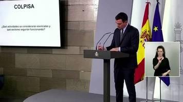 Video: Spanien schränkt Bewegungsfreiheit weiter ein
