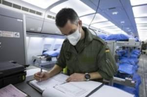 Gesundheit: Luftwaffe holt Corona-Patienten auch nach Niedersachsen